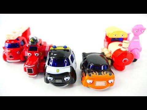 Машинки для детей. Видео игрушки Герои Нашего Города - пожарная, полицейская машинка, скорая помощь. (видео)