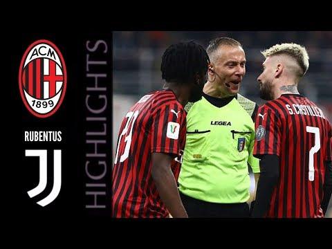 AC Associazione Calcio Milan 1-1 FC Juventus Torin...