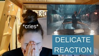 Video Delicate Music Video Reaction | Taylor Swift | CRYING MP3, 3GP, MP4, WEBM, AVI, FLV Maret 2018