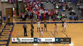 Bryan Station at Lexington Catholic - Girls HS Basketball