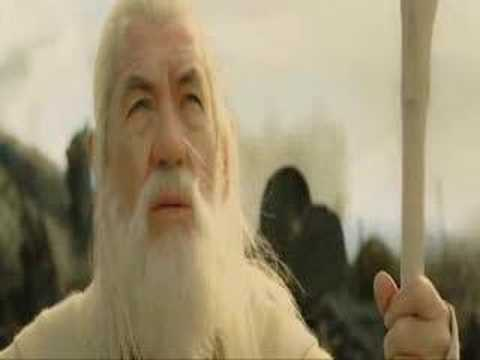 saruman - saruman and white gandalf in isengard.