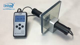 LS116 light transmittance meter youtube video