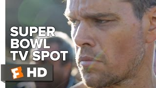 Jason Bourne Official Super Bowl TV Spot (2016) - Matt Damon Movie HD - YouTube