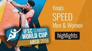 IFSC Climbing World Cup Arco Highlights Lead & Speed Finals by International Federation of Sport Climbing