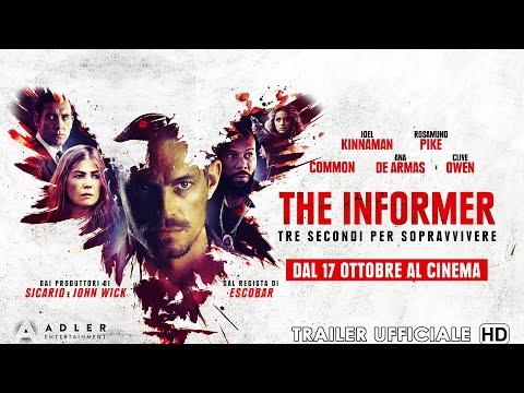 Preview Trailer The Informer, trailer ufficiale italiano