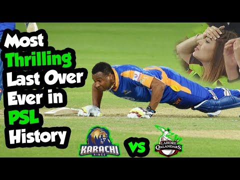 Most Thrilling Last Over Ever in PSL History | Lahore Qalandars Vs Karachi Kings | HBL PSL