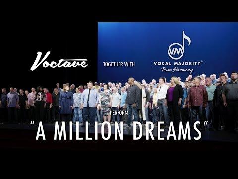 Voctave and Vocal Majority - A Million Dreams (видео)
