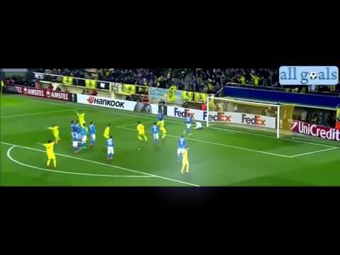 Villareal Napoli 1 0 18/2/16 1/16 finale Europe League highlights Hd