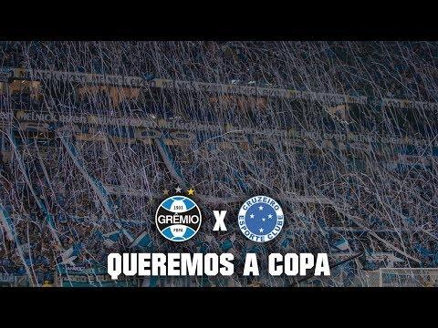 Geral do Grêmio - Queremos a Copa | Grêmio 1x0 Cruzeiro - Geral do Grêmio - Grêmio