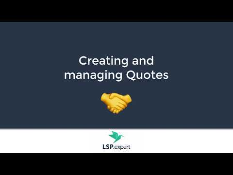 Leadership quotes - Creating and managing quotes