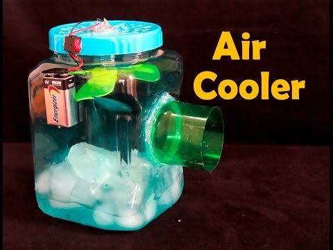 How to Make Air Conditioner Homemade  DIY   Easy To Make at Home
