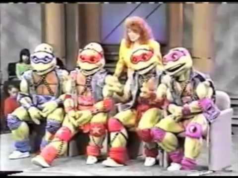 The Teenage Mutant Ninja Turtles on Oprah - 1990 (Short Version)