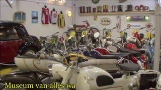 50cc Crossmotoren & Sport Bromfietsen Museum van alles wa