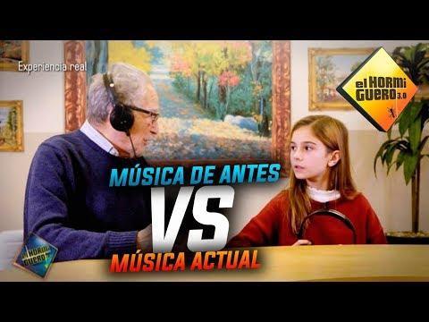 La música de antes vs la música de ahora - Experimento sociológico - El Hormiguero