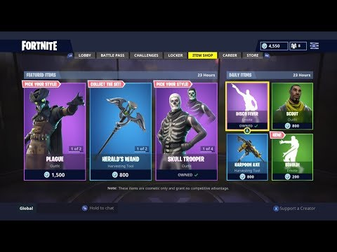 Extremely Rare Skin Returns Daily Item Shop Today Fortnite