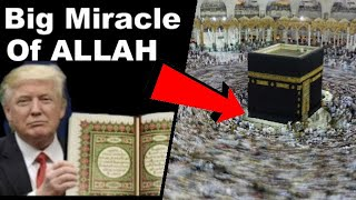 Top Miracle of Allah 2017 - Muslim idol worshipers on annual Hajj to Mecca. The Muslims shall go to kiss the Russian meteorite - for it's bigger than the one...