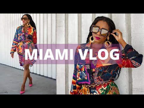 VLOG: Spend the Weekend with Me in Miami Beach 🌴 | MONROE STEELE видео