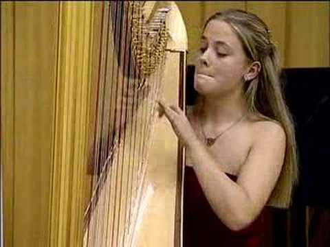 harp - Harp Showspot / Entertainment played by Louise Thomson on an Aoyama Monarch Pedal Harp. Sunday 9th October 2005 was the Final Round of the 2005 London Harp C...