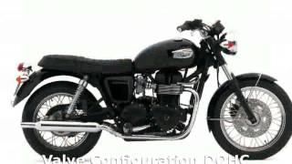 10. 2007 Triumph Bonneville Black - Specs & Specification