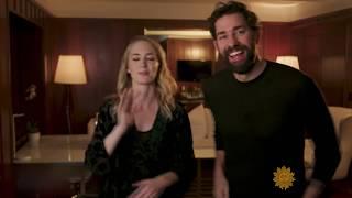 Video John Krasinski & Emily Blunt MP3, 3GP, MP4, WEBM, AVI, FLV Maret 2019
