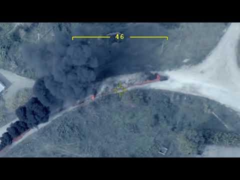 Момент уничтожения «министра обороны» непризнанной НКР