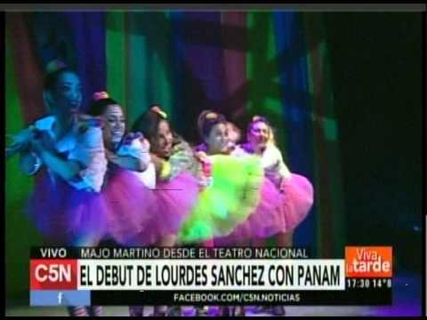 C5N – VIVA LA TARDE: LOURDES SANCHEZ DEBUTO JUNTO A PANAM