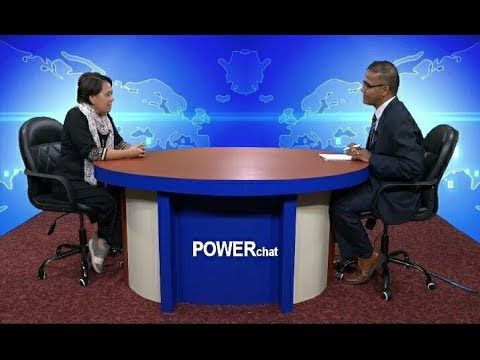 (Marie Apostol in POWERchat with Laxman D. Pant - Duration: 25 minutes.)