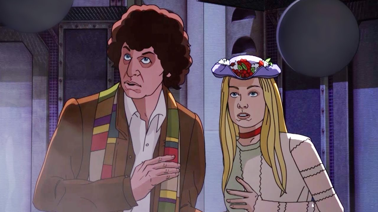 WATCH! The Fourth Doctor and Romana in newly completed 'Shada'