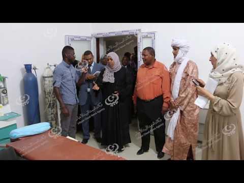 وزير الشؤون الاجتماعية تزور مستشفى غات