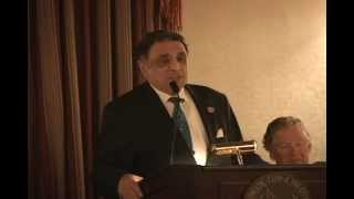 Setrak Agonian received Member of the year award from New York Athletic Club