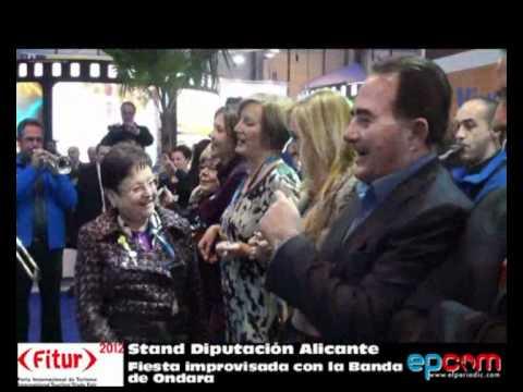 FITUR 2012 – Prov. Alicante – Fiesta con la Banda de Ondara