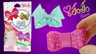 In todays video I open some more Jo Jo Siwa products including a minty green bow, surprise bow blind bags, lip gloss, stickers and more! Inside one of the blind bags I find the limited edition golden bow!Subscribe to Toy Reviews For You: bit.ly/1CyaPemFollow MeInstagram: http://instagram.com/toyreviewsforyouTwitter: https://twitter.com/ToyReviews4YouFacebook  https://www.facebook.com/pages/Toy-Reviews-For-You/119789888191540Music is from Audioblocks.com and the Youtube Library