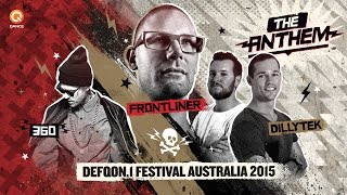 Nonton Frontliner   Dillytek Ft  360   No Guts  No Glory   Defqon 1 Australia Anthem 2015  Film Subtitle Indonesia Streaming Movie Download