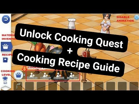 Ragnarok Online Mobile - Unlock Cooking Quest & Cooking Recipe