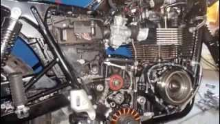 3. 2011 model Triumph Scrambler Engine removal slideshow pics