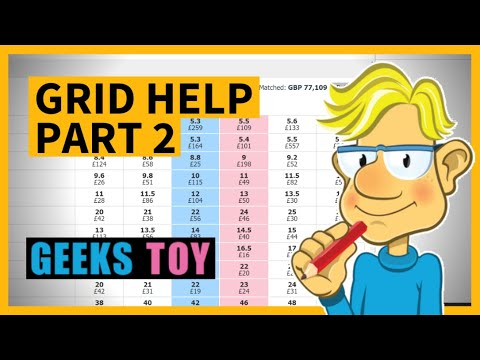 A Geeks Toy Pro Grid Interface Explained Part 2