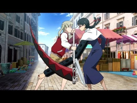 Soul Eater NOT! - Maka vs Eternal Feather (English Dub) (improved Bluray verion)