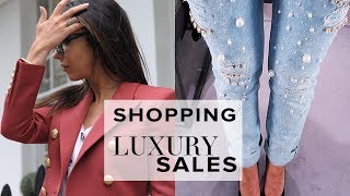 Come and join me in this luxury lifestyle vlog where I try-on and haul designer clothes from the famous Harrods sale (includes...