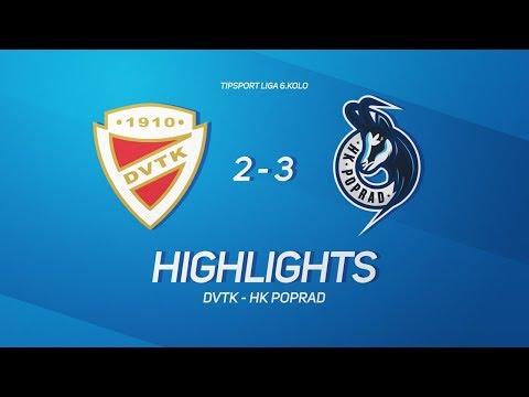 6.forduló: DVTK Jegesmedvék - HK Poprad 2-3