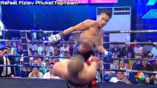 Киргизский спортсмен во время боя повторил трюк Нео из «Матрицы»