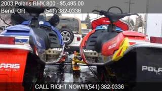 4. 2003 Polaris RMK 800 RMK for sale in Bend, OR 97701 at Just