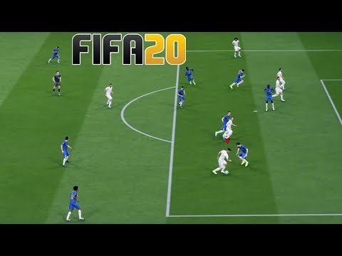 FIFA 20 GAMEPLAY REAL MADRID VS CHELSEA | FIFA 20 DEMO