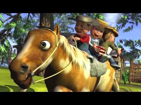 Meu Cavalo Meu Bretão | rimas em português | A Fazenda do Zenon 3 | O Reino das Crianças