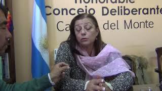 CRISIS ECONOMICA DE LA MUNICIPALIDAD: DECLARACIONES DE GABI NEGRI SOBRE LA SITUACION DE LA MUNICIPALIDAD