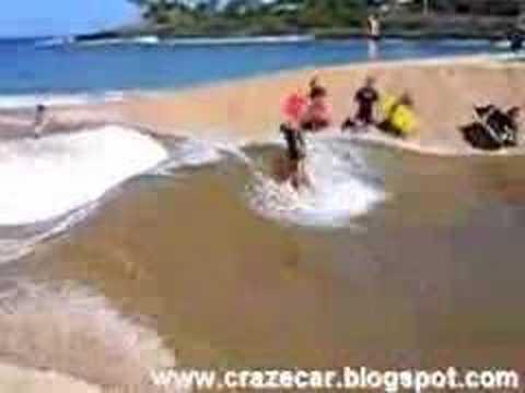 Standing-Wave Surfer