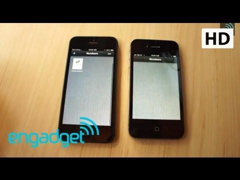 iPhone 5 開箱實機測試影片