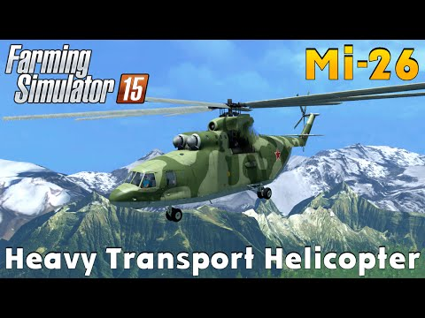 TFSG HELICOPTER MI26 UN tfsgroup