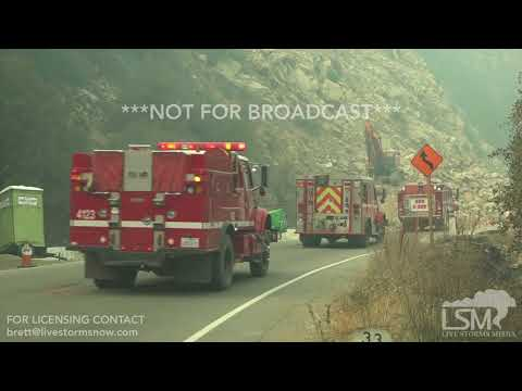 12-08-2017 - Ojai, CA - Dense Smoke Travel and Health Hazard - Elliott / Hegner