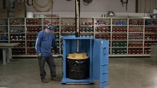 #HowItsMadeWant to learn how to crush steel like a pro? Use a special hydraulic press with a sharp point!Full Episodes Streaming FREE on Science Channel GO: http://www.sciencechannelgo.com/how-its-madeSubscribe to Science Channel:http://bit.ly/SubscribeScienceJoin Us on Facebook:https://www.facebook.com/ScienceChannel   Follow Us on Twitter: https://twitter.com/ScienceChannel
