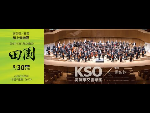 《Weiwuying × Kaohsiung Spring Arts Festival Online Concert Hall》 5/30 PM7:30 Kaohsiung Symphony Orchestra Video broadcast(Youtube PHOTO)